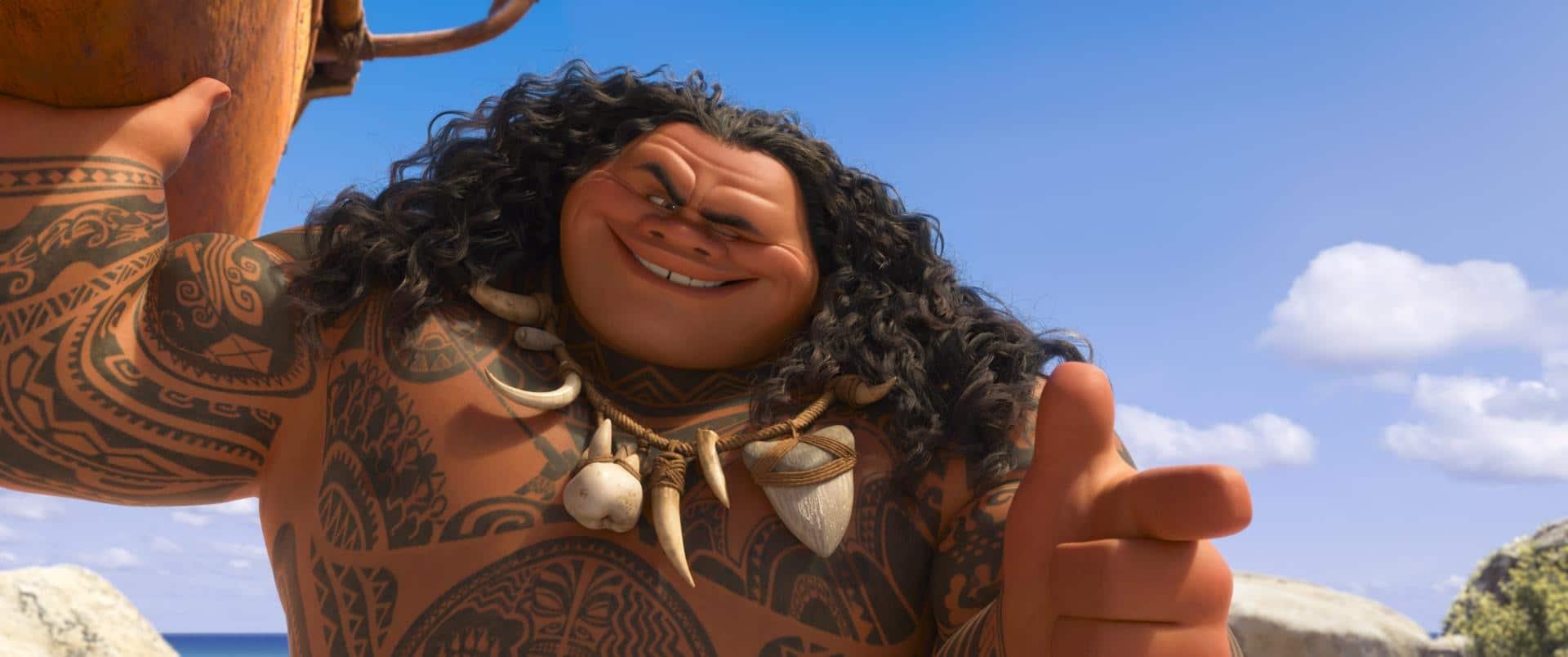 Oceania: Maui e l'infanzia del narcisista | Dipendiamo.blog