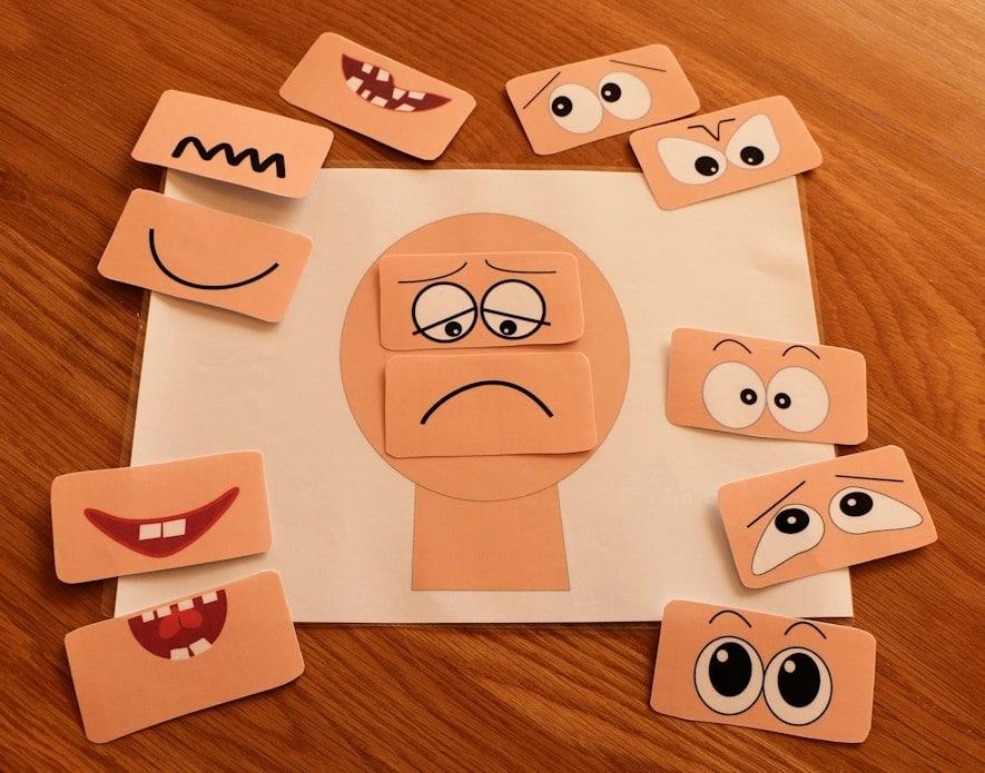 Gioco per riconoscere le emozioni   Step 2   Dipendiamo.blog