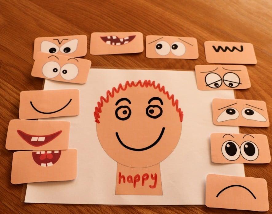 Gioco per riconoscere le emozioni | Step 3 | Dipendiamo.blog