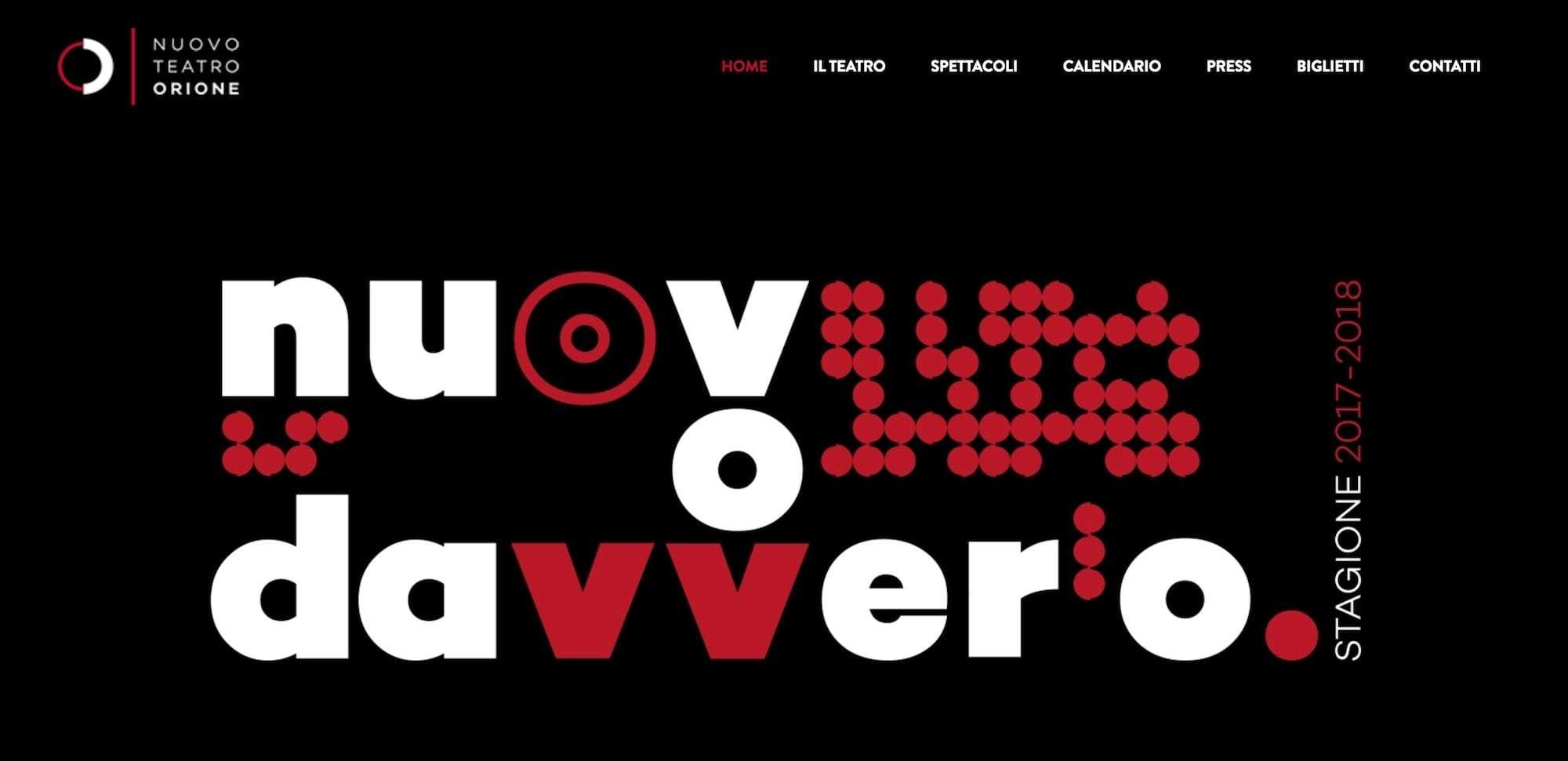 Nuovo Teatro Orione | Dipendiamo.blog