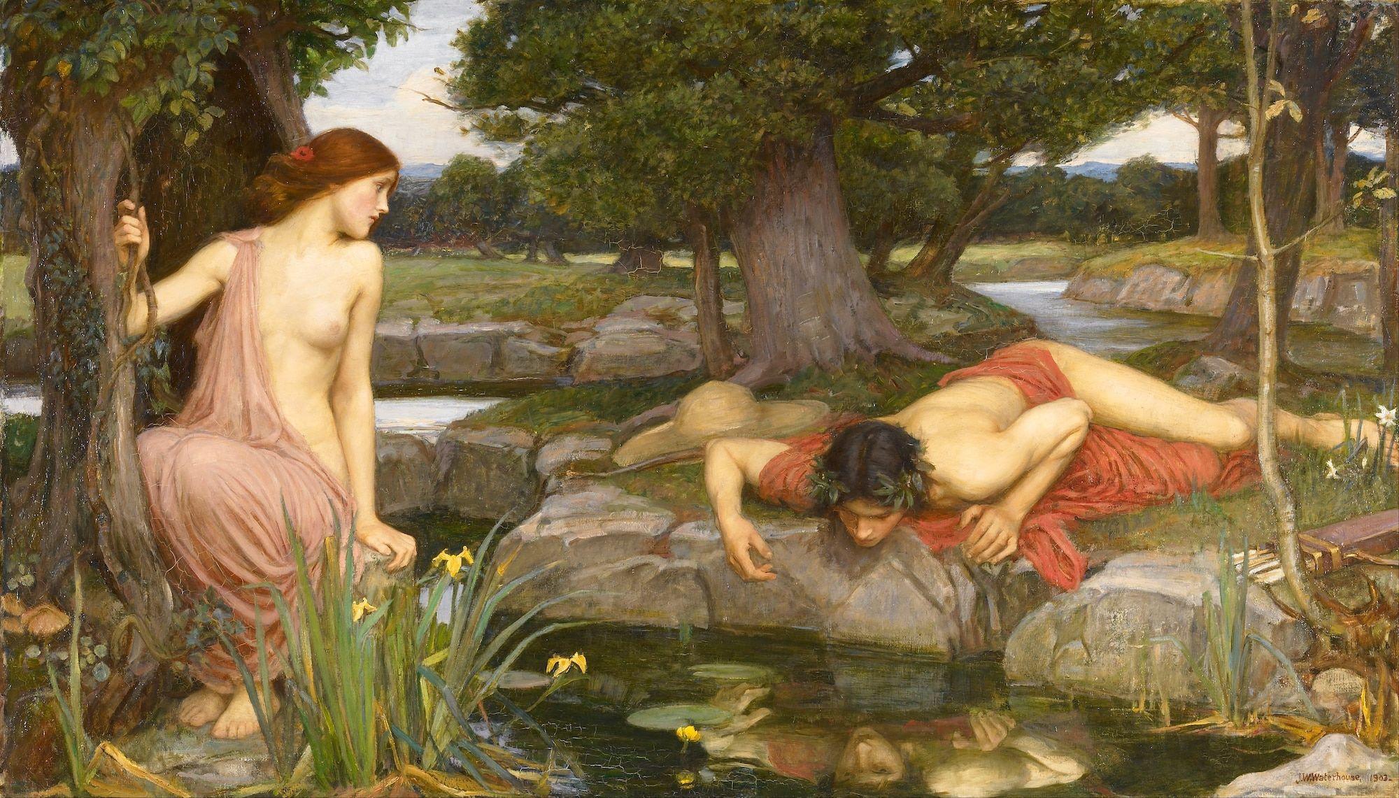 Il mito di Eco e Narciso: La ninfa Eco e la Dipendenza Affettiva | Dipendiamo.blog