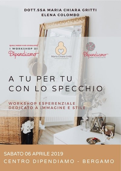 "Workshop ""A Tu per Tu con lo specchio"""
